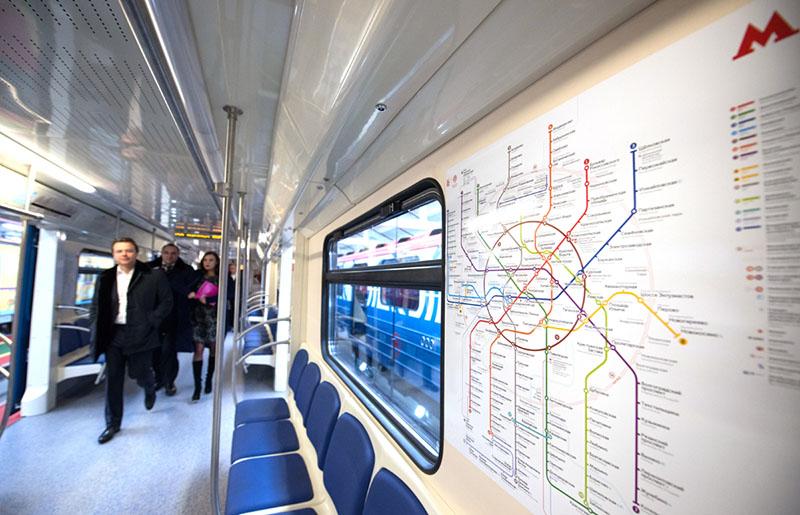 Новый вагон метрополитена