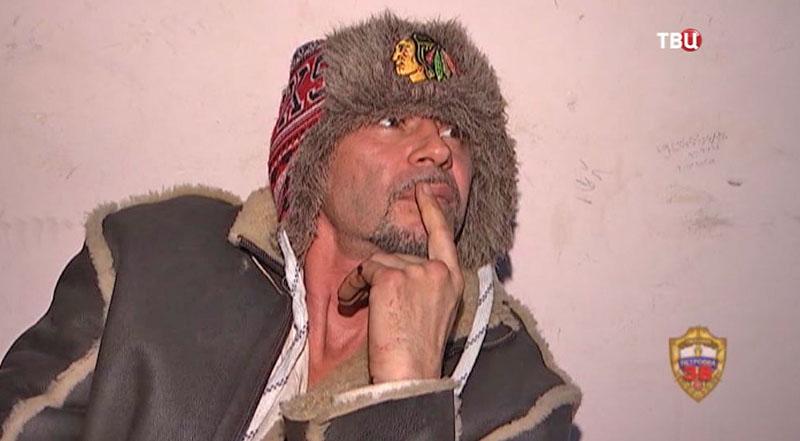 Задержанный актер Валерий Николаев