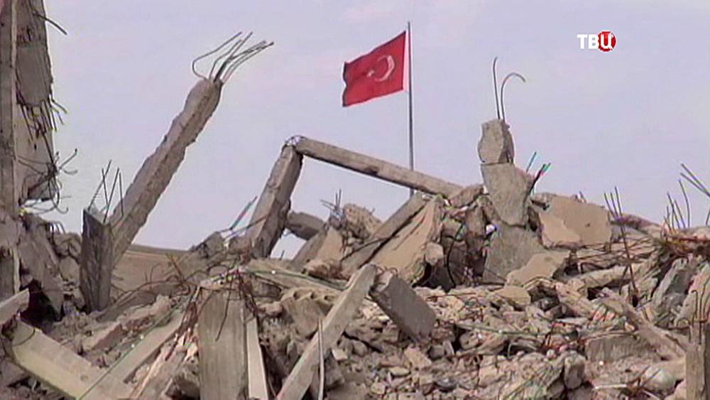 Военные действия на границе Турции и Сирии