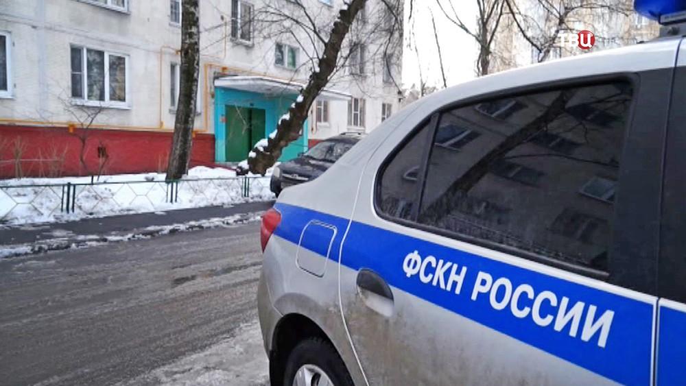 Автомобиль ФСКН России