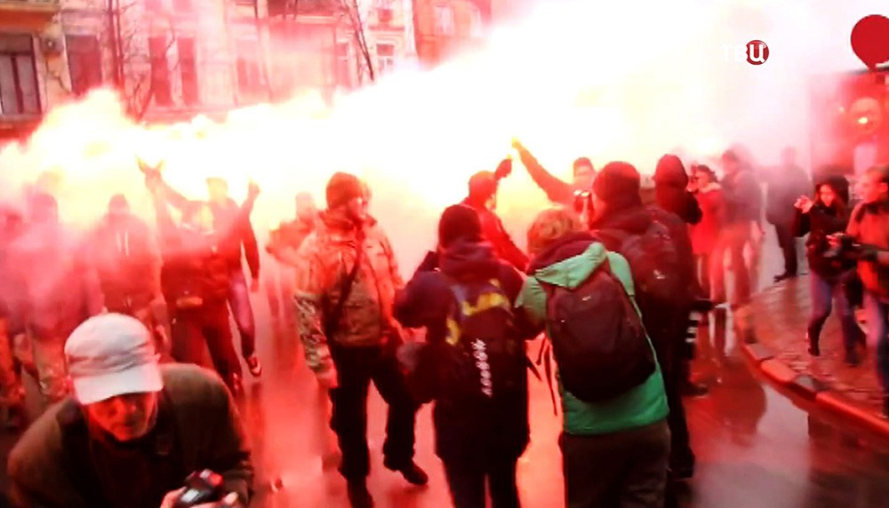 "Митинг активистов батальона ""Азов"""