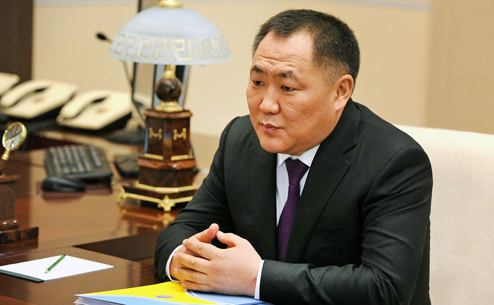 Глава Республики Тыва Шолбан Кара-оол