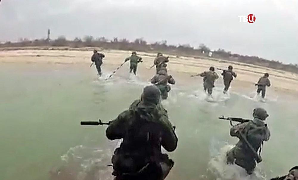 Учения украинского спецназа