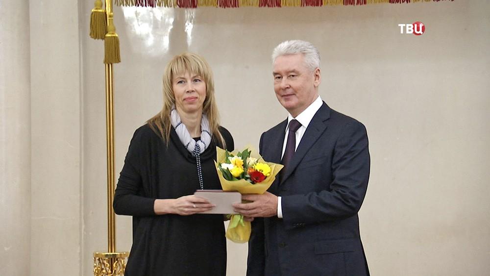 Сергей Собянин поздравил москвичек с наступающим 8 марта