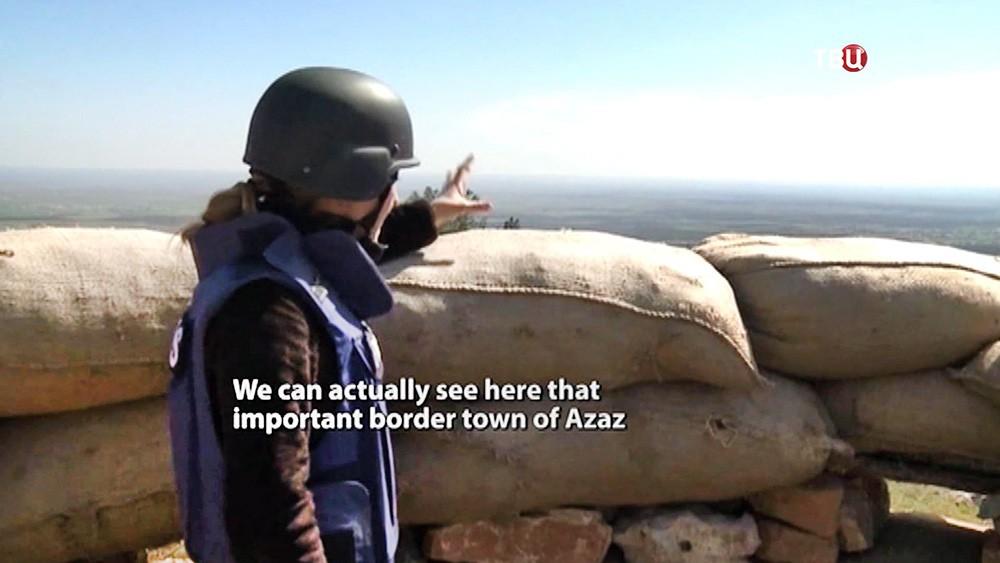 Журналист показывает активность Турецкии на сирийской территории