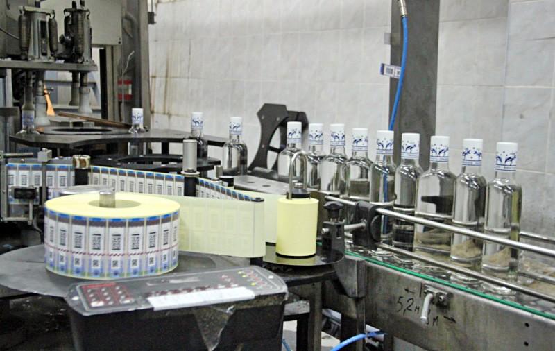 Подпольный цех по производству контрафактного алкоголя