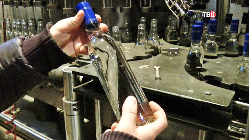 Подпольное производство водки
