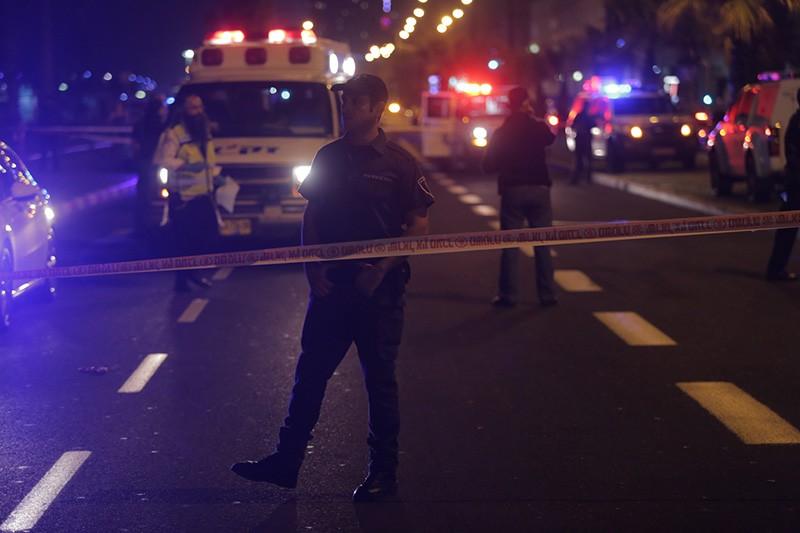 На месте теракта в Тель-Авиве