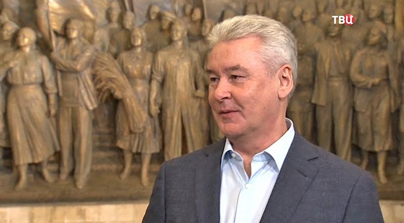 Сергей Собянин на ВДНХ