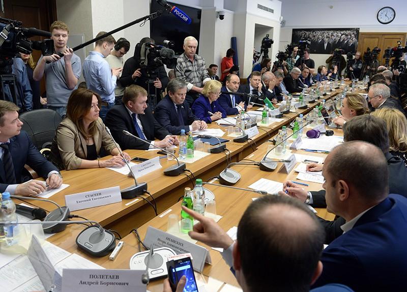 Экстренное совещание в Москве экспертного совета и комитета Госдумы по физкультуре, спорту и делам молодежи