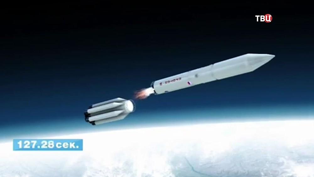 """Ракета """"Протон-М"""" на орбите"""