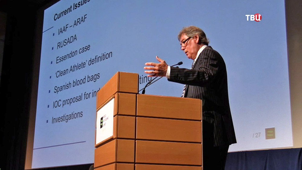 Гендиректор Всемирного антидопингового агенства (ВАДА) Дэвид Хоуман