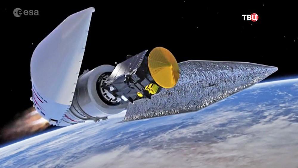 """Ракета """"Протон-М"""" с аппаратами российско-европейской миссии """"Экзомарс"""""""