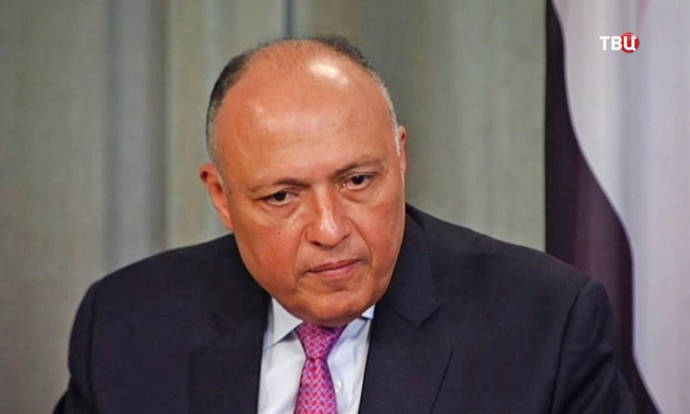 Министр иностранных дел Египта Самех Шукри