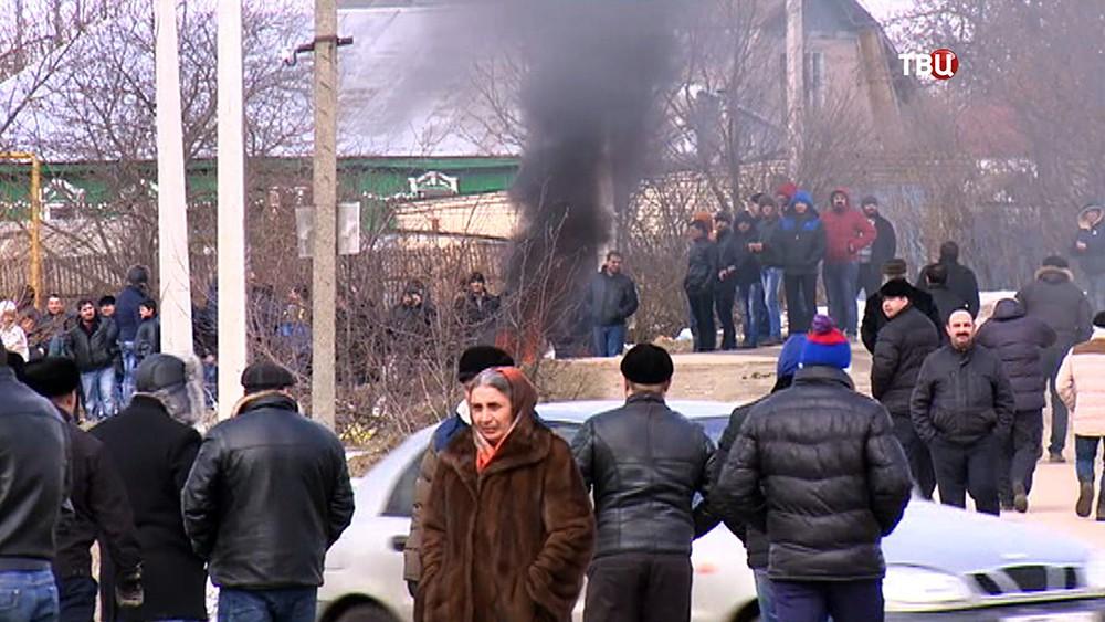 Столкновения цыган с полицией под Тулой
