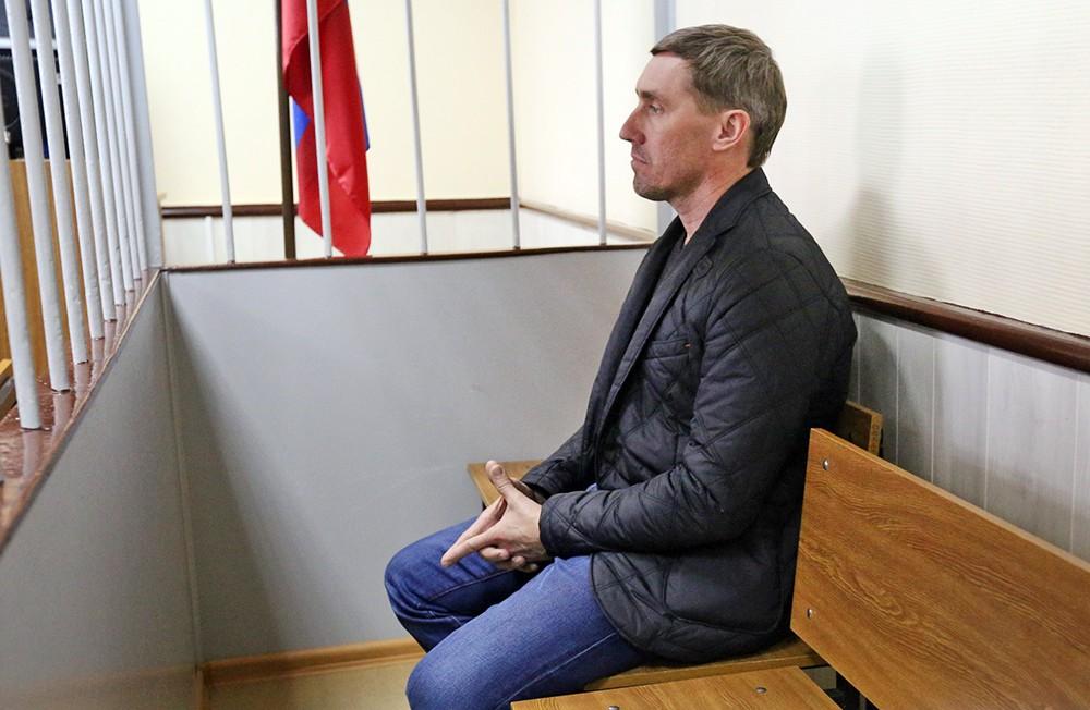 Фигурант дела о хищении госсредств в Минкультуры РФ Олег Иванов в суде