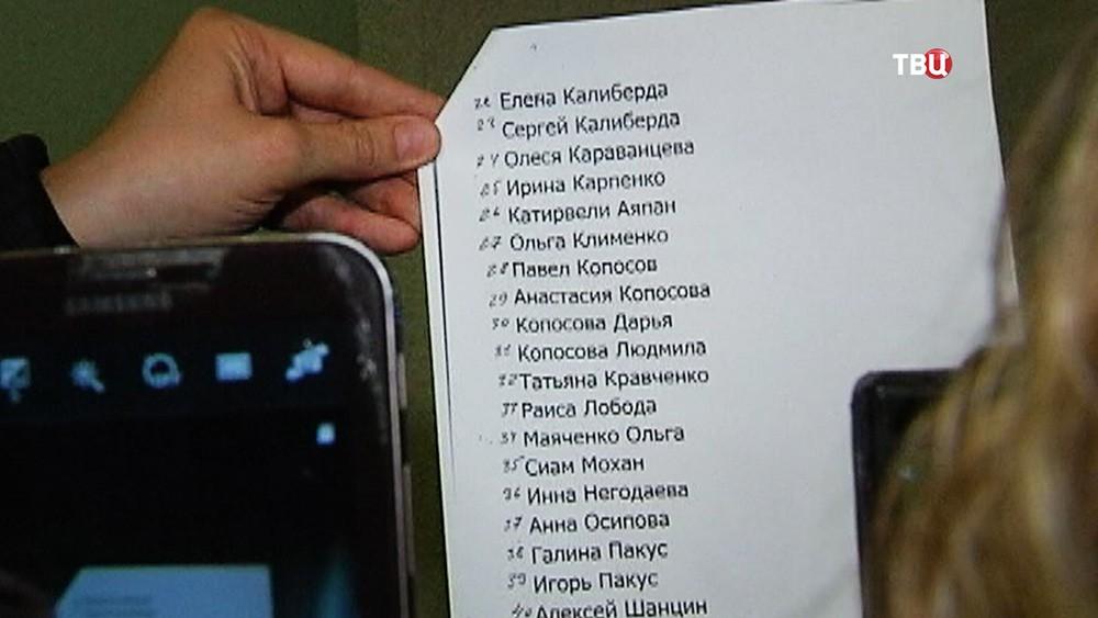 Список погибших в крушении пассажирского самолета Boeing-737-800 в аэропорту Ростова-на-Дону