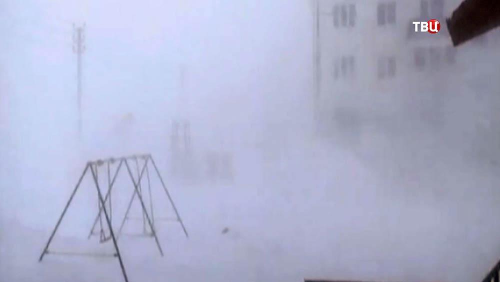 Снежный циклон
