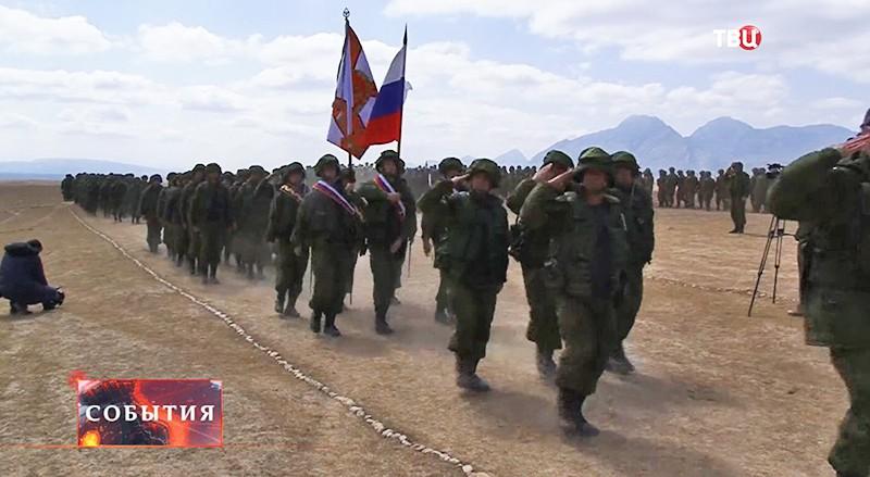 Учения в Таджикистане