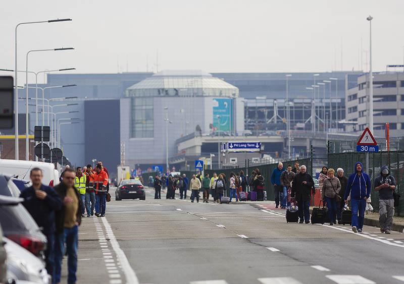 """У аэропорта """"Завентем"""" в Брюсселе, где произошел взрыв"""