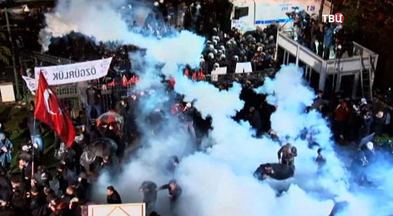 Беспорядки в Турции