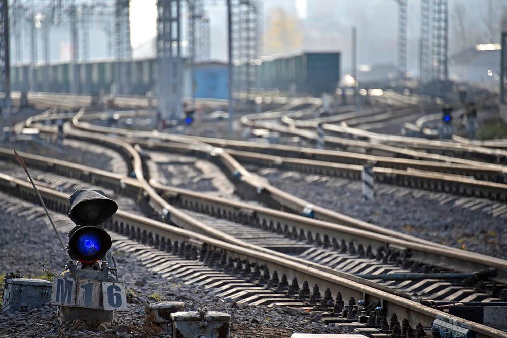 Железнодорожные рельсы