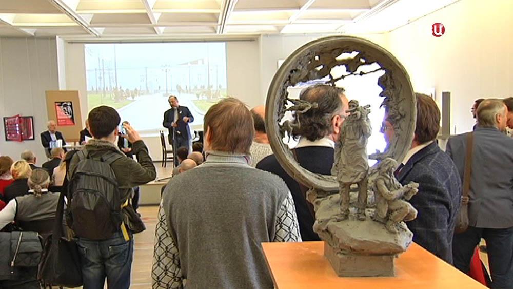 Выставка проектов памятника погибшим журналистам