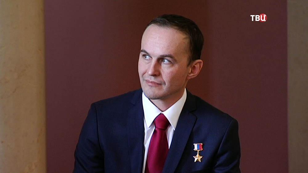 Герой России, космонавт-испытатель Сергей Рязанский