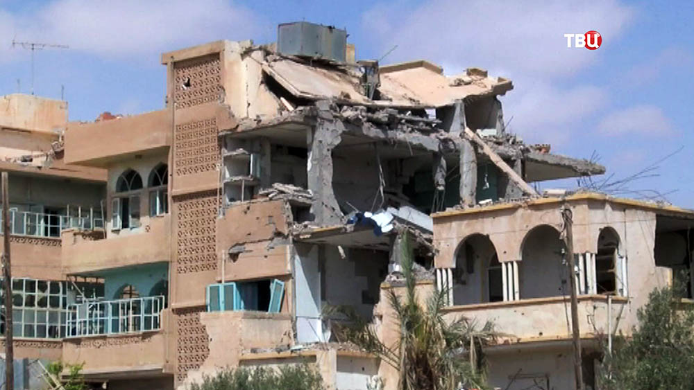 Последствия военных действий в Сирии