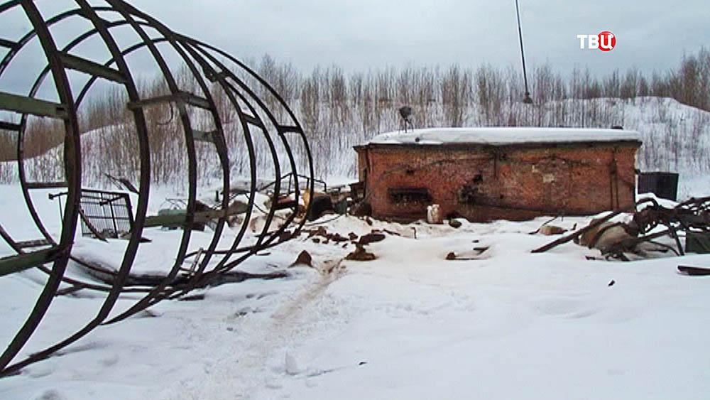 Территория Красноуральского химического завода
