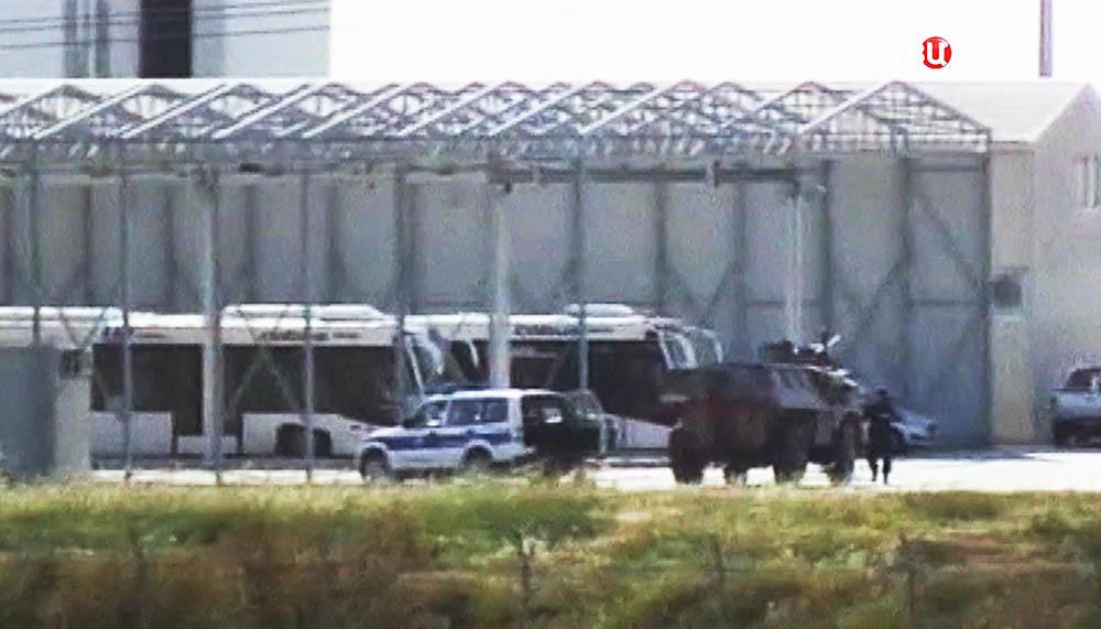 Спецоперация в аэропорту Ларнаки