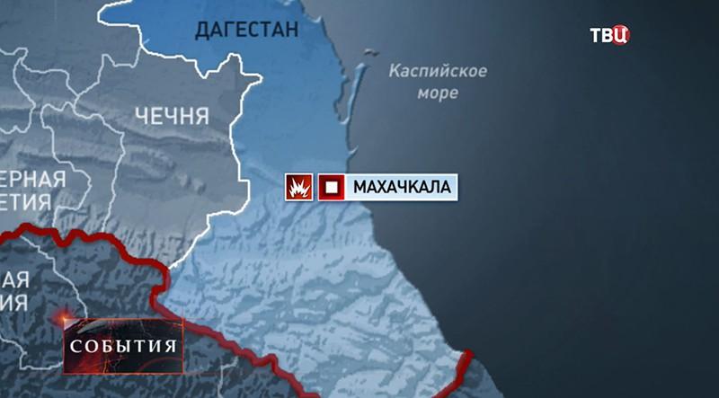 Взрыв в Дагестане