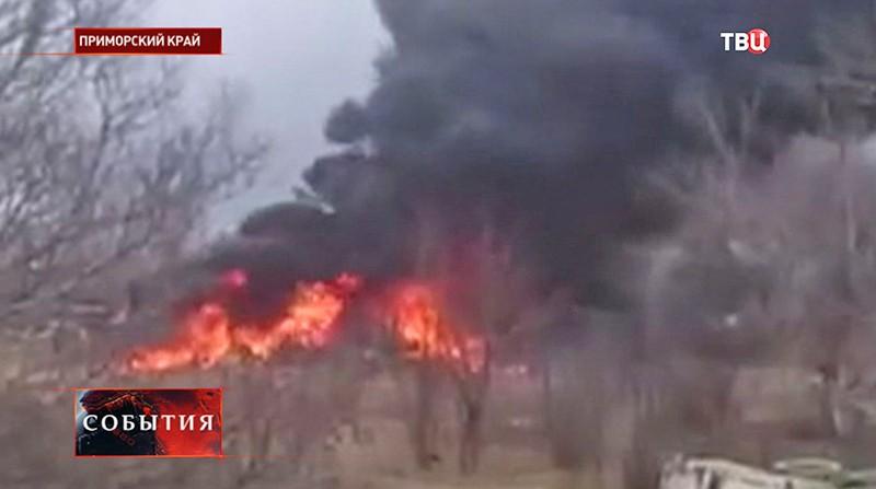 Крушение штурмовика Су-25
