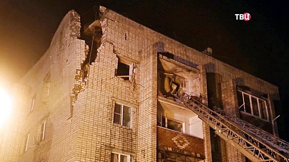 Последствия взрыва газа в жилой дом
