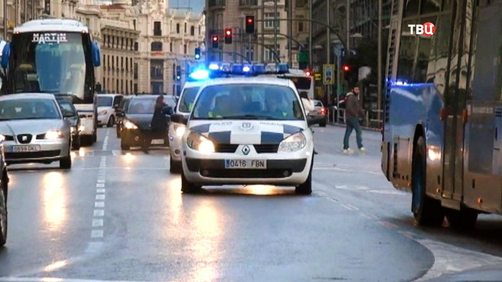 Машины полиции Испании