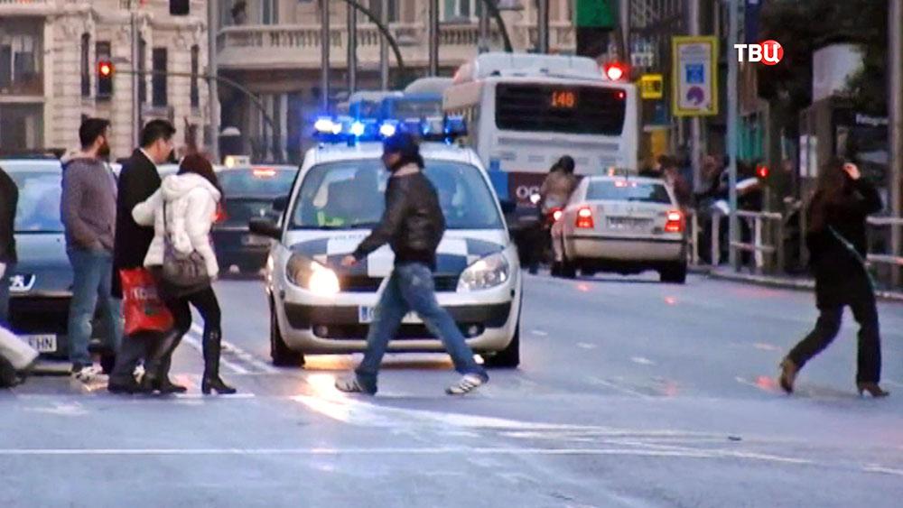 Машина полиции Испании