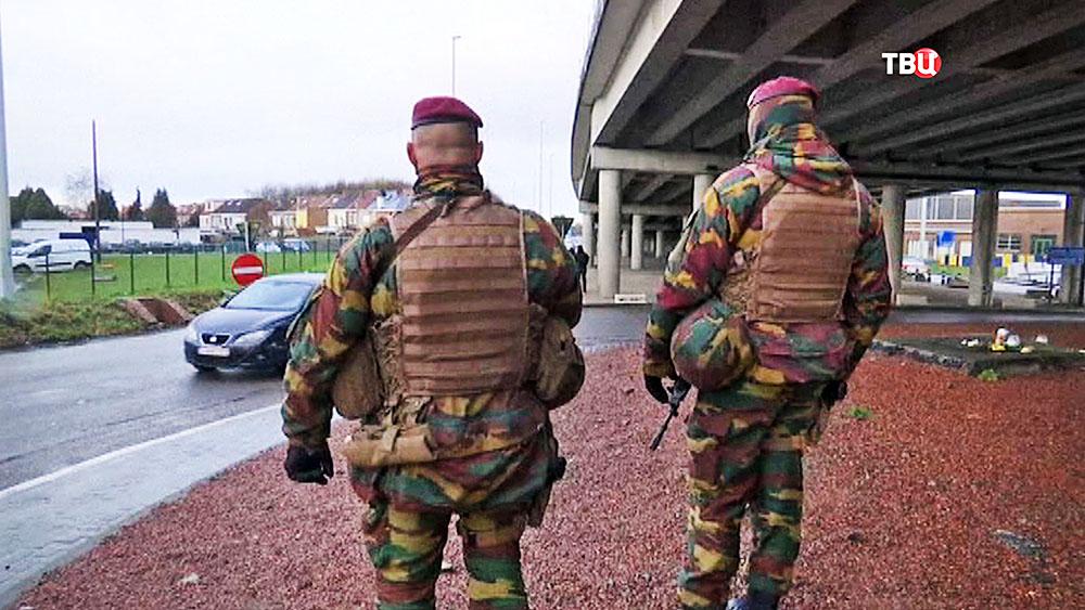 Спецназ военной полиции Бельгии
