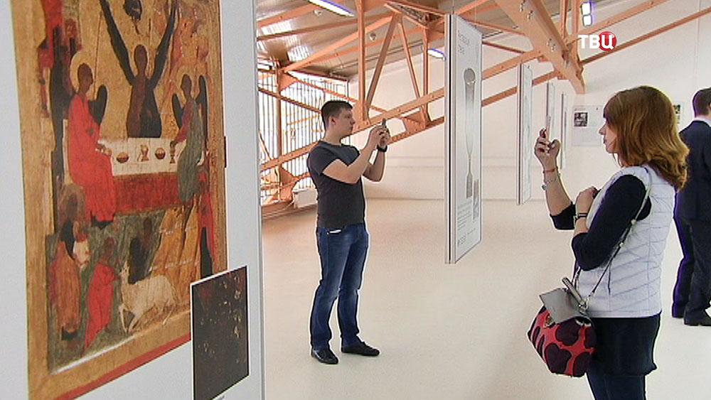 Выставка в реставрационном центре им. Грабаря