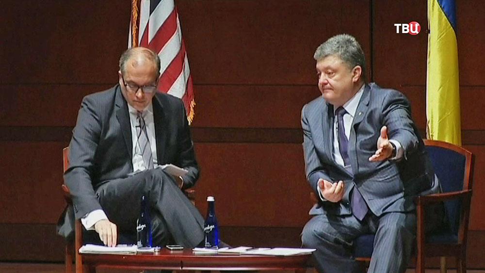 Президент Украины Пётр Порошенко в США