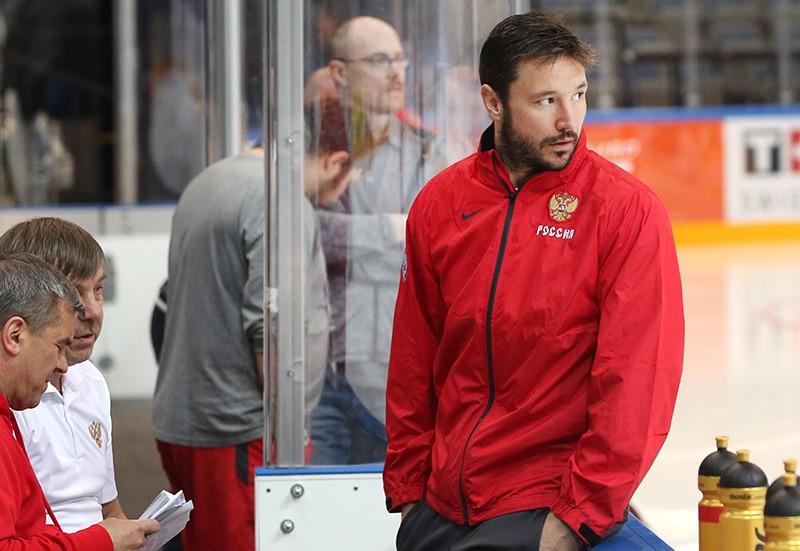 Игрок сборной России по хоккею Илья Ковальчук