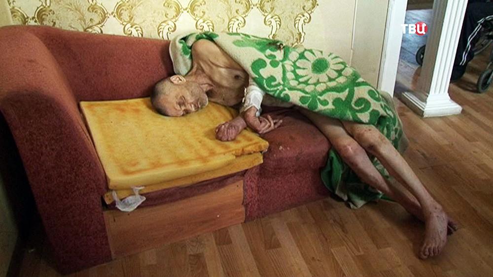 """Жильцы социального приюта """"Дом старчества"""""""