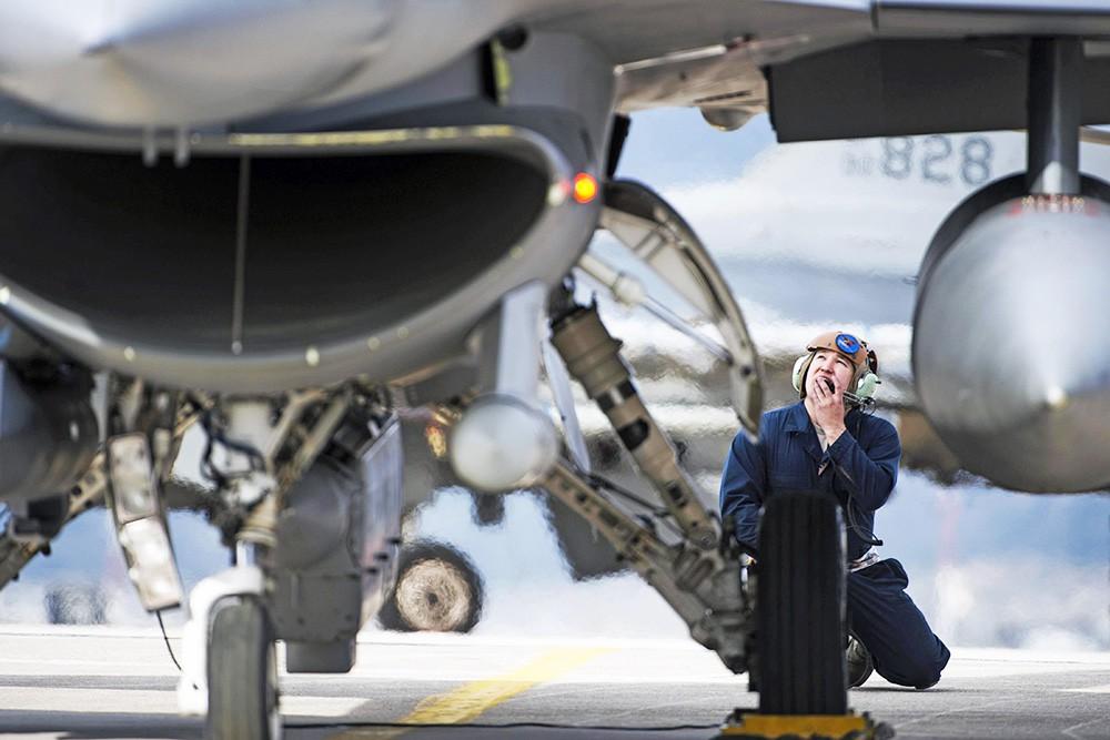 Авиабаза ВВС США