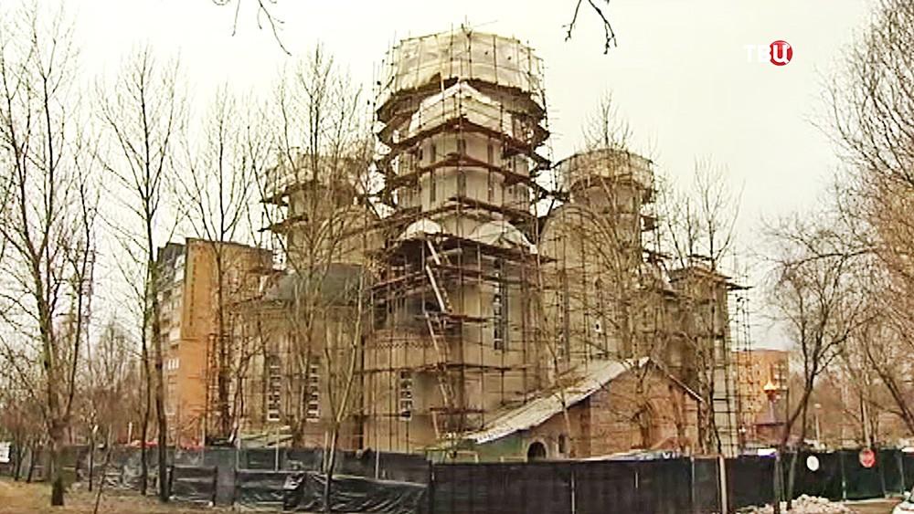 Строительство нового храма в Алтуфьево