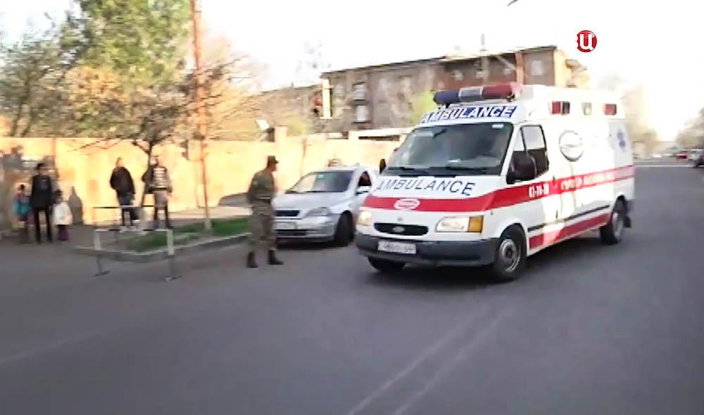Скорая помощь в Армении