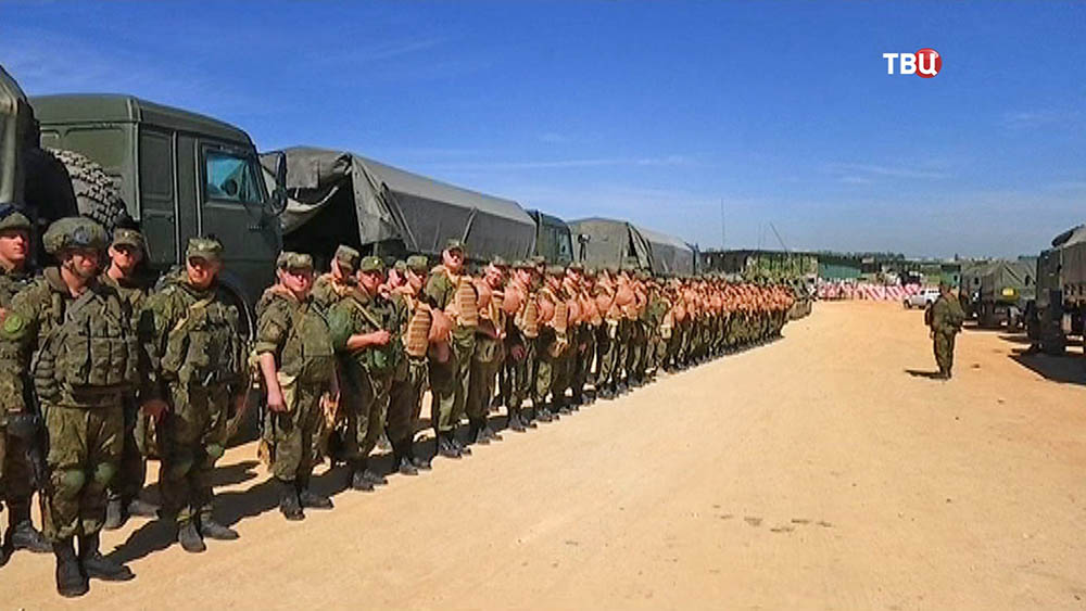 ВМуроме торжественно встретили русских саперов, разминировавших сирийскую Пальмиру