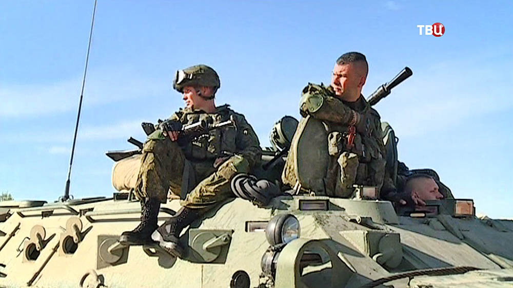 Военнослужащие российской армия в Сирии