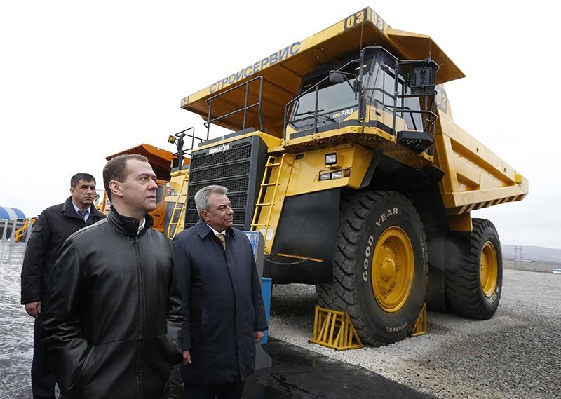 Рабочая поездка Дмитрия Медведева в Кемеровскую область