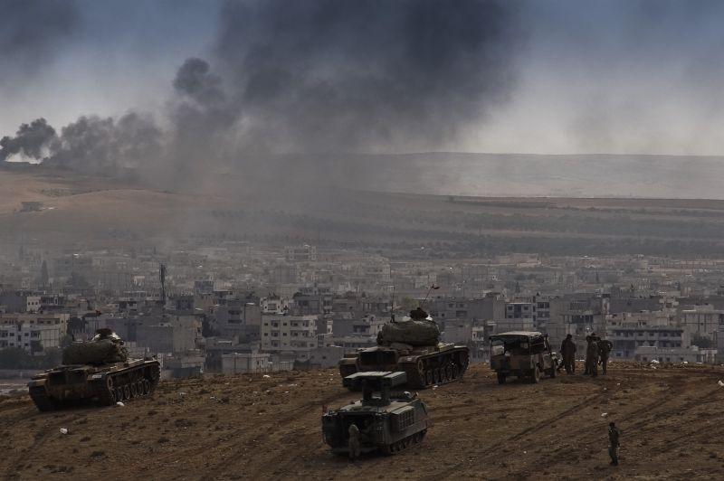 Турецко-сирийская граница