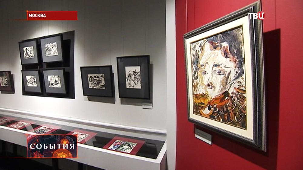 Выставка картин художника-авангардиста Анатолия Зверева