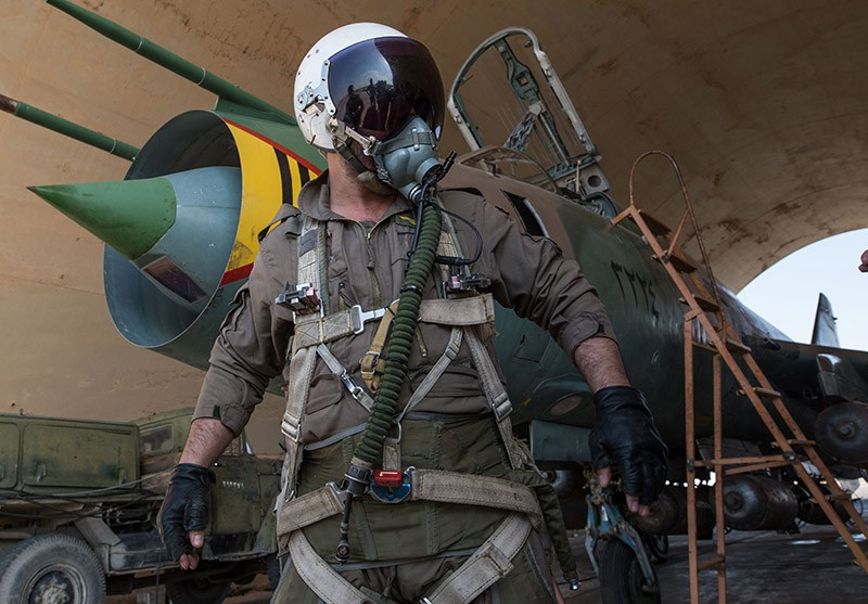 Летчик ВВС сирийской армии